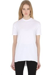 Y Project Asymmetrical Cotton Jersey Top