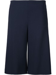 Calvin Klein Collection Cropped Trousers Blue