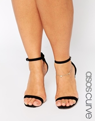 Asos Curve Heart Anklet And Toe Ring Pack Gold