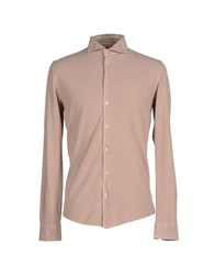 Gran Sasso Shirts Shirts Men Dove Grey