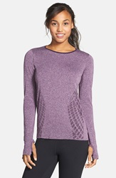 New Balance 'Made For Movement' Seamless Long Sleeve Asteroid