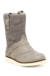 Australia Luxe Collective Yolo Genuine Sheepskin And Shearling Lining Boot Gray