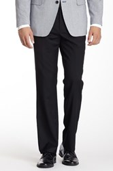 Tommy Hilfiger Solid Black Wool Dress Pant 30 34 Inseam