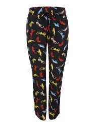 Biba Panther Printed Slouch Trousers Multi Coloured
