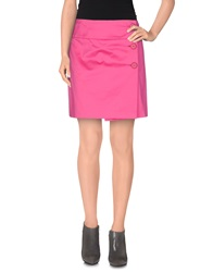 Prada Mini Skirts Fuchsia