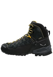 Salewa Alp Trainer Mid Gtx Walking Boots Carbon Ringlo Dark Gray