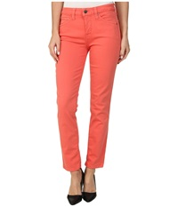 Miraclebody Jeans Sandra D. Skinny Ankle In Coral Coral Women's Jeans