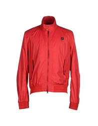 Blauer Coats And Jackets Jackets Men Red