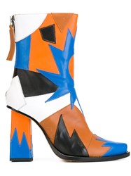 Msgm Patchwork Boots