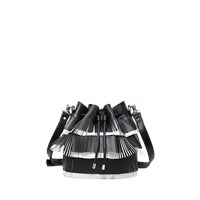 Proenza Schouler Medium Fringe Bucket Bag Bi Color Fringe