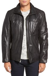 Marc New York Men's By Andrew Plymouth Lightweight Leather Jacket
