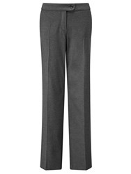 Gerry Weber Straight Leg Trousers Steel