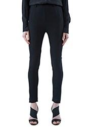 Ilaria Nistri Long Slim Fit Pants Black