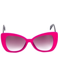 Italia Independent Butterfly Frame Sunglasses Pink And Purple