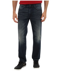 Dkny Bleecker Jean Otis Tinted In Dark Indigo Wash Dark Indigo Wash Men's Jeans Navy