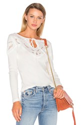 Free People With Love Tee Ivory