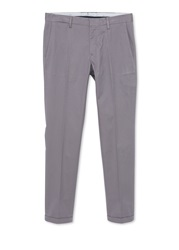 Mango Straight Leg Casual Chino Grey
