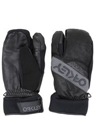Oakley Factory Leather And Nylon Trigger Mittens