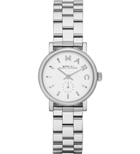 Marc By Marc Jacobs Mbm3246 Baker Mini Stainless Steel Watch 2.8Cm White