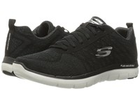 Skechers Flex Advantage 2.0 Golden Point Black White Men's Lace Up Casual Shoes