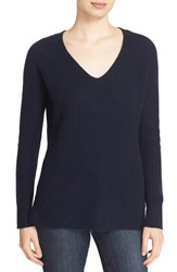Autumn Cashmere Women's Shaker Stitch V Neck Sweater