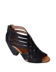 Corso Como Genni Leather Sandals Black