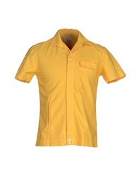 Band Of Outsiders Shirts Shirts Men Yellow
