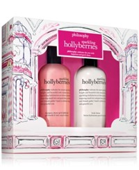 Philosophy 2 Pc. Sparkling Hollyberries Set No Color