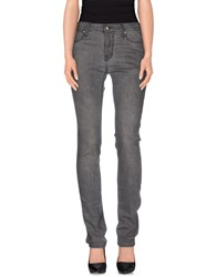 Zu Elements Zu Elements Denim Denim Trousers Women Grey
