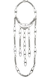 Dannijo Loire Silver Plated Necklace