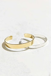 Urban Outfitters Easy Bangle Bracelet Set Gold