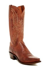 Lucchese Mad Dog Goat Leather Boot Wide Width Available Multi