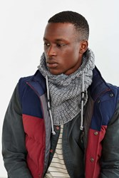 Bickley Mitchell X Uo Hooded Scarf Grey