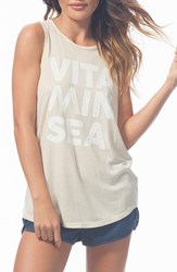 Rip Curl Women's 'Vitamin Sea' Graphic Muscle Tank