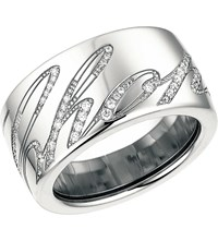 Chopardissimo 18Ct White Gold And Diamond Ring