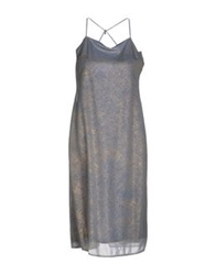 Diana Gallesi Knee Length Dresses Slate Blue