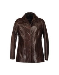 Redskins Leather Outerwear Black