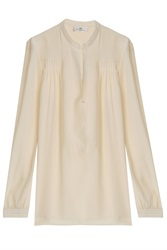 Day Birger Et Mikkelsen Pleat Shld Slit Frnt Blouse