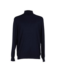 Della Ciana Turtlenecks Dark Blue