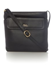 Tula Nappa Originals Black Medium Crossbody Bag Black