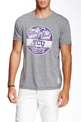 Original Retro Brand Texas Christian University Tee Gray