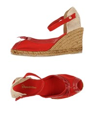 Espadrilles Footwear Sandals Women Red