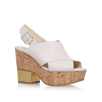 Nine West Imena High Heel Sandals Light Brown