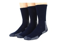 Thorlos Trail Hiking Crew 3 Pair Pack Shaded Lake Blue Men's Crew Cut Socks Shoes