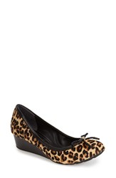 Cole Haan 'Tali' Bow Wedge Pump Women 11
