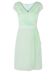 Kaliko Waterfall Soft Prom Dress Pastel Green