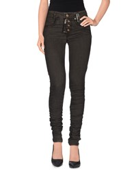 High Denim Denim Trousers Women Lead