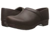 Dansko Pro Xp Brown Oiled Men's Clog Shoes