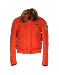 Blauer Coats And Jackets Jackets Women Orange