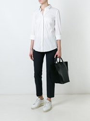 Brunello Cucinelli Trim Detail Shirt White